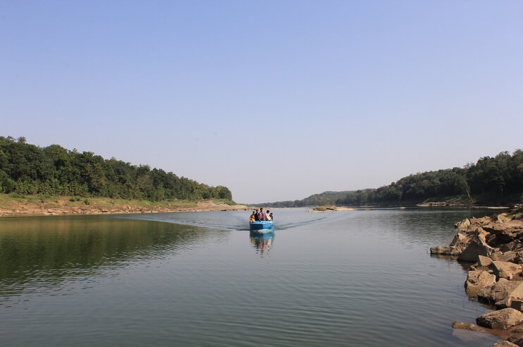 Boating in Panna